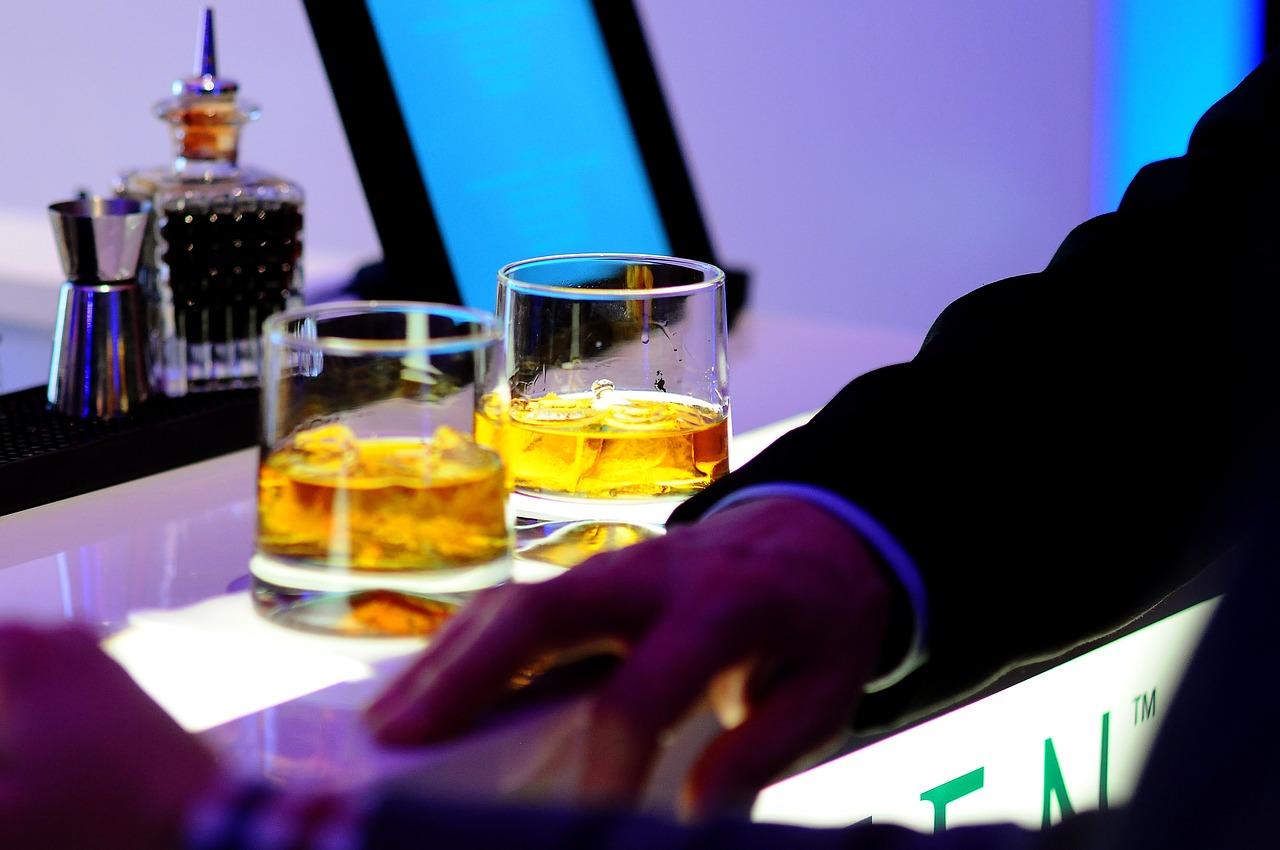 お酒と商談